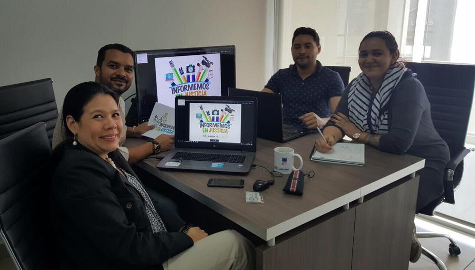 Proyecto entre SICI-DOMINUS-DEMUCA-ICAP busca promover un sistema de justicia más eficiente en Honduras