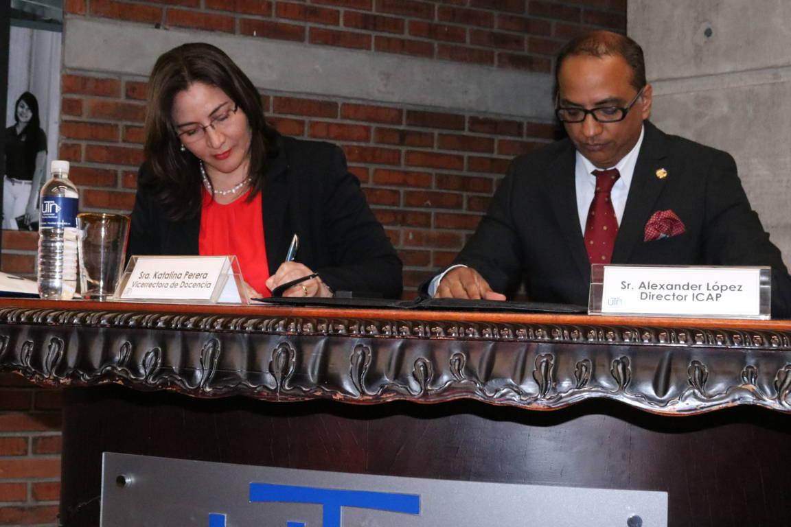 ICAP y UTN firman convenio marco de cooperación