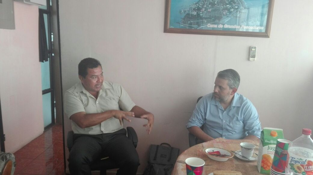 ICAP se reúne con Asociación de Pescadores y Palangreros Puntarenenses