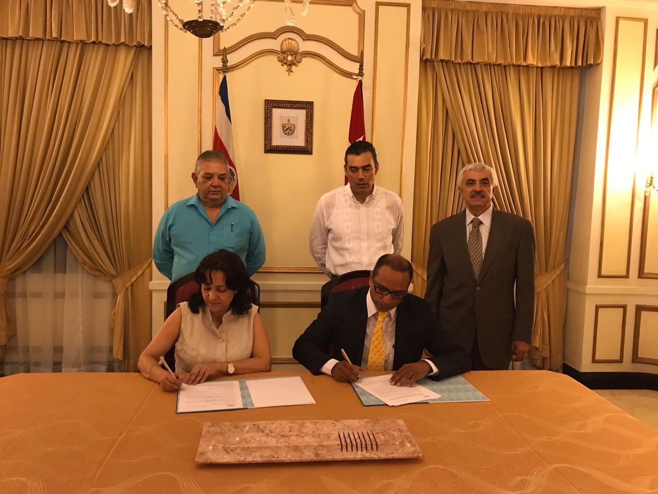 ICAP firma convenio de cooperación con Ministerio de Educación de Cuba
