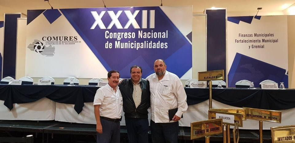 ICAP participó en  el Congreso Nacional de Municipalidades de El Salvador