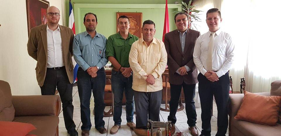ICAP e IFAM realizan visitas de campo para conocer las obras a blindar contra el cambio climático en Cartago, San Ramón y Liberia