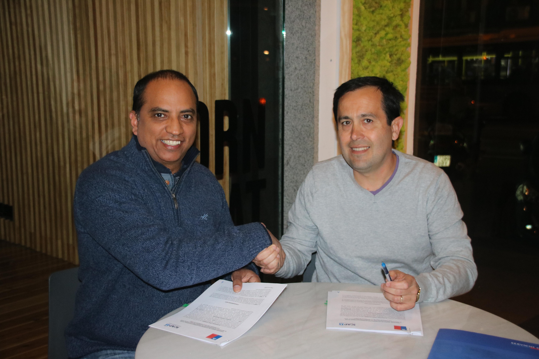 El ICAP y el Servicio Civil de la República de Chile firman convenio de colaboración interinstitucional