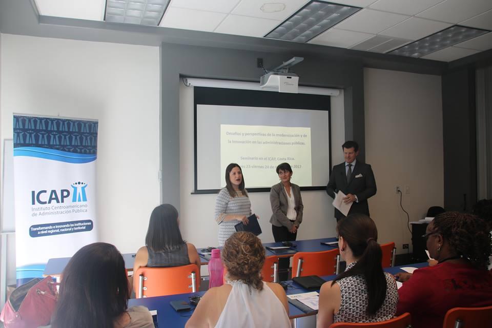 """El ICAP y el IFAC realizaron el Seminario: """"Desafíos y perspectivas de la modernización e innovación en las administraciones públicas"""""""