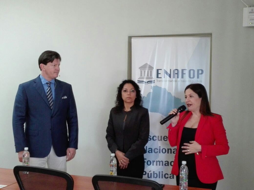 ICAP coorganiza Seminario sobre Políticas Públicas con la Escuela Nacional de Formación Pública de El Salvador