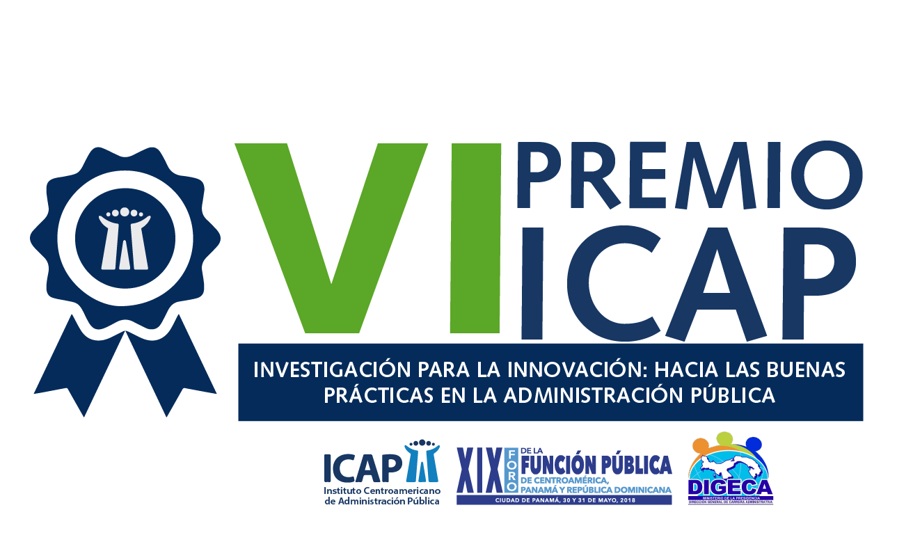 """Convocatoria Abierta para la VI Edición del Premio ICAP """"Investigación para la Innovación: Hacia las buenas prácticas en la Administración Pública"""""""