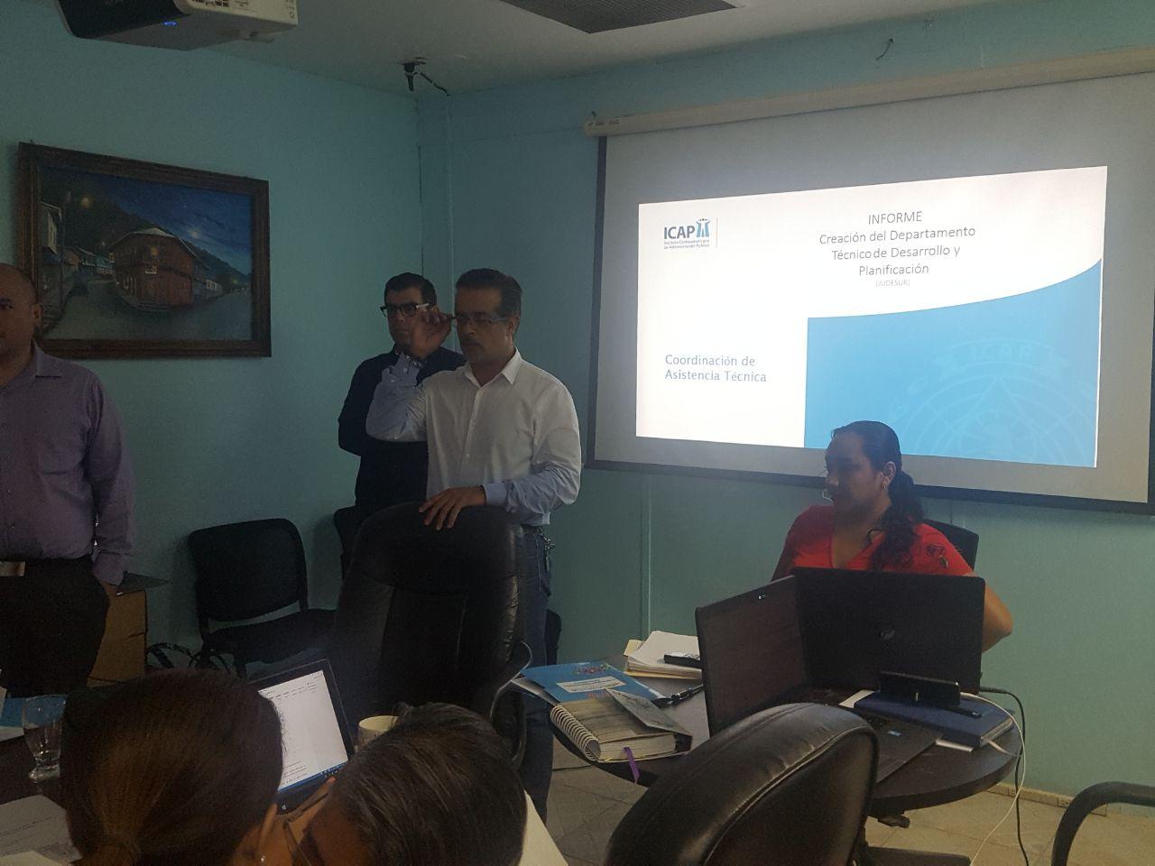 JUDESUR avanza en proceso de reestructuración con apoyo del ICAP