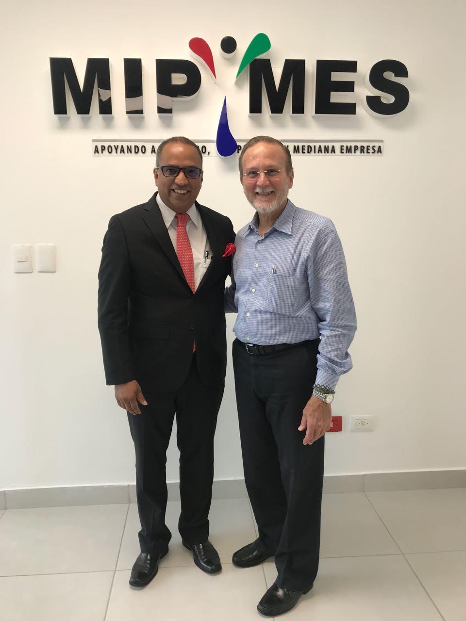 Exitoso Modelo de Apoyo a las MIPYMES desarrollado por el ICAP interesa a República Dominicana
