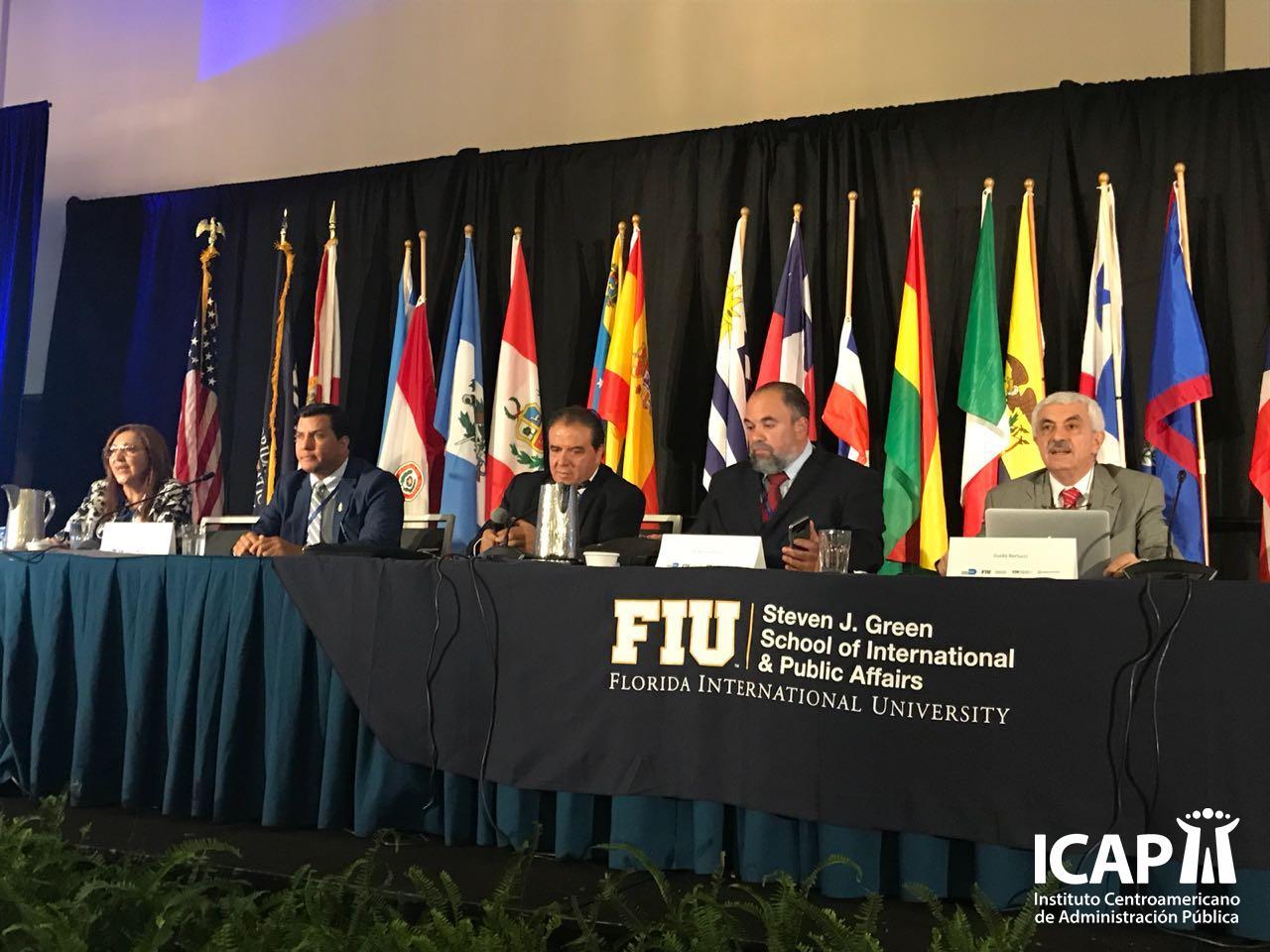 Experiencia del ICAP en el blindaje climático es analizada en la XXIV Conferencia Interamericana de Alcaldes y Autoridades Locales