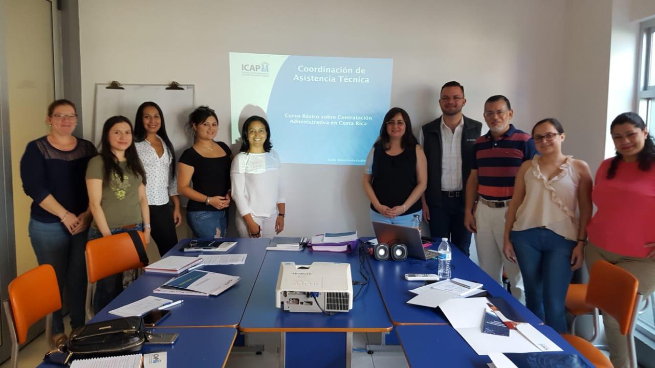 Culmina Curso básico de Contratación Administrativa en Costa Rica