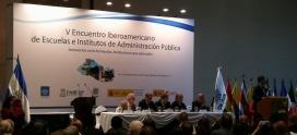 """El ICAP participa del """"V Encuentro Iberoamericano de Escuelas e Institutos de Administración Pública"""""""