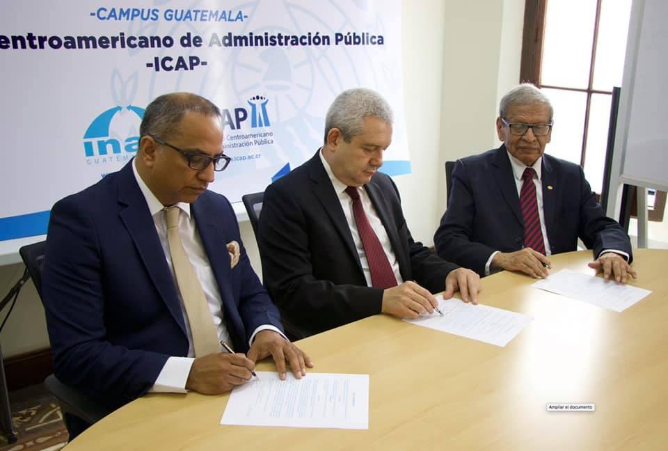 ICAP e INAP abren campus en Guatemala para fortalecer sus programas de formación y asistencia técnica