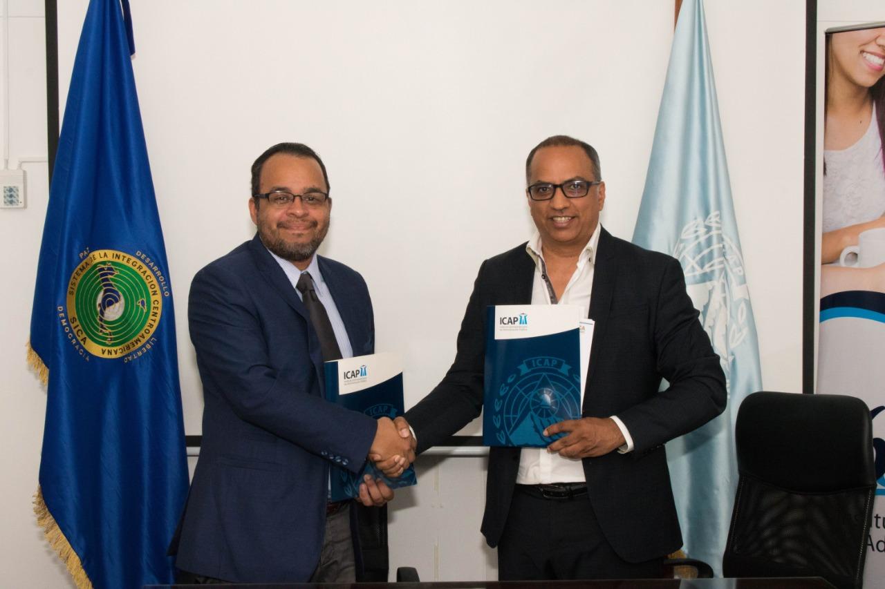 ICAP y SITCA refuerzan alianzas en temas estratégicos