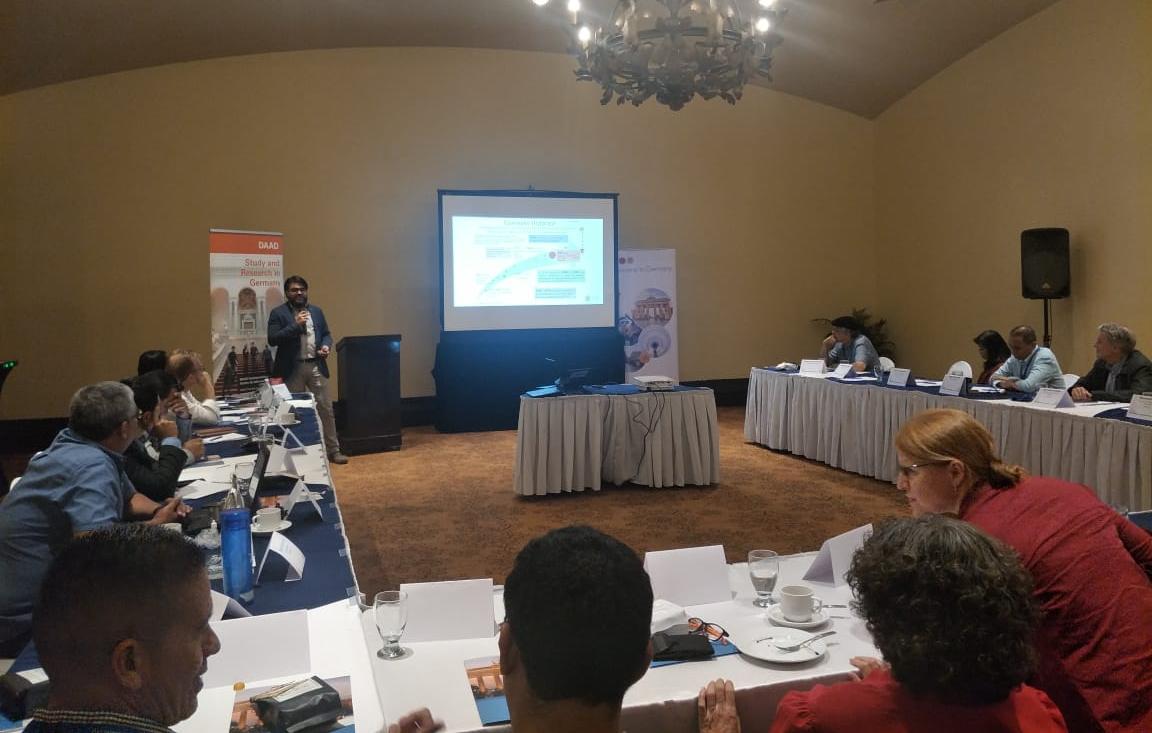 """ICAP participa en """"Taller de Enlaces del DAAD"""" en Honduras"""