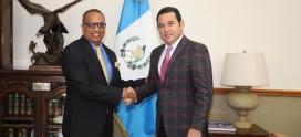 ICAP ofreció visita de cortesía al Presidente Jimmy Morales