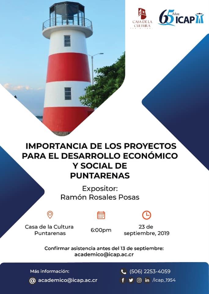 ICAP ofreció conferencia en Puntarenas