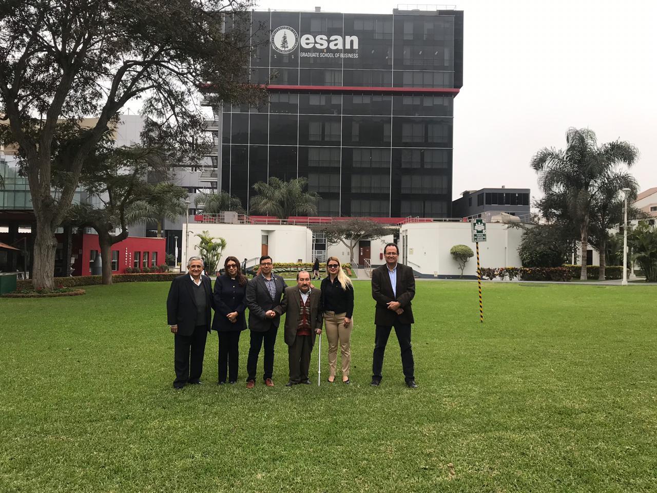 ICAP se reunió con la Escuela Superior de Administración y Negocios de Perú para explorar futuras opciones de trabajo entre Centroamérica y la región andina