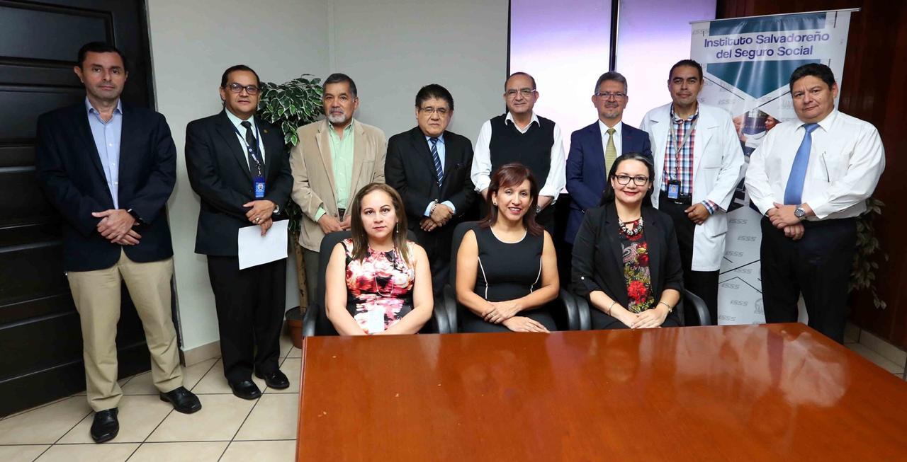ICAP ofreció taller al Instituto Salvadoreño del Seguro Social en materia de gestión pública y planes de salud