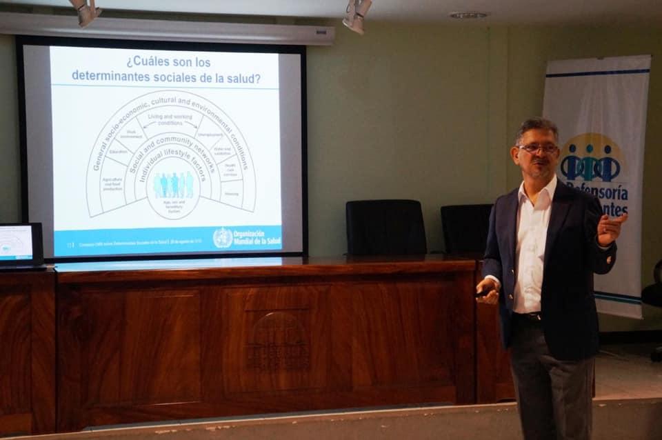 Ofrecen taller para el fortalecimiento de capacidades en la Defensoría de los Habitantes
