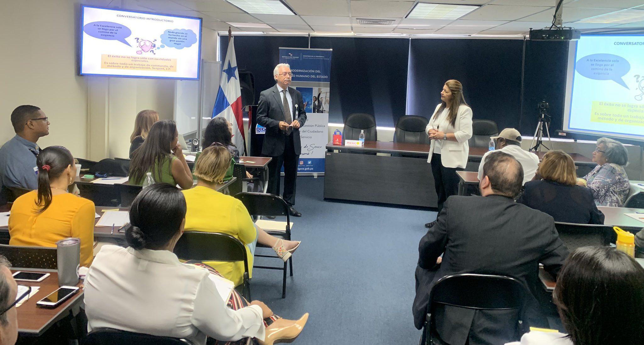 ICAP capacita a funcionarios panameños en Dirección y Coordinación de Equipos