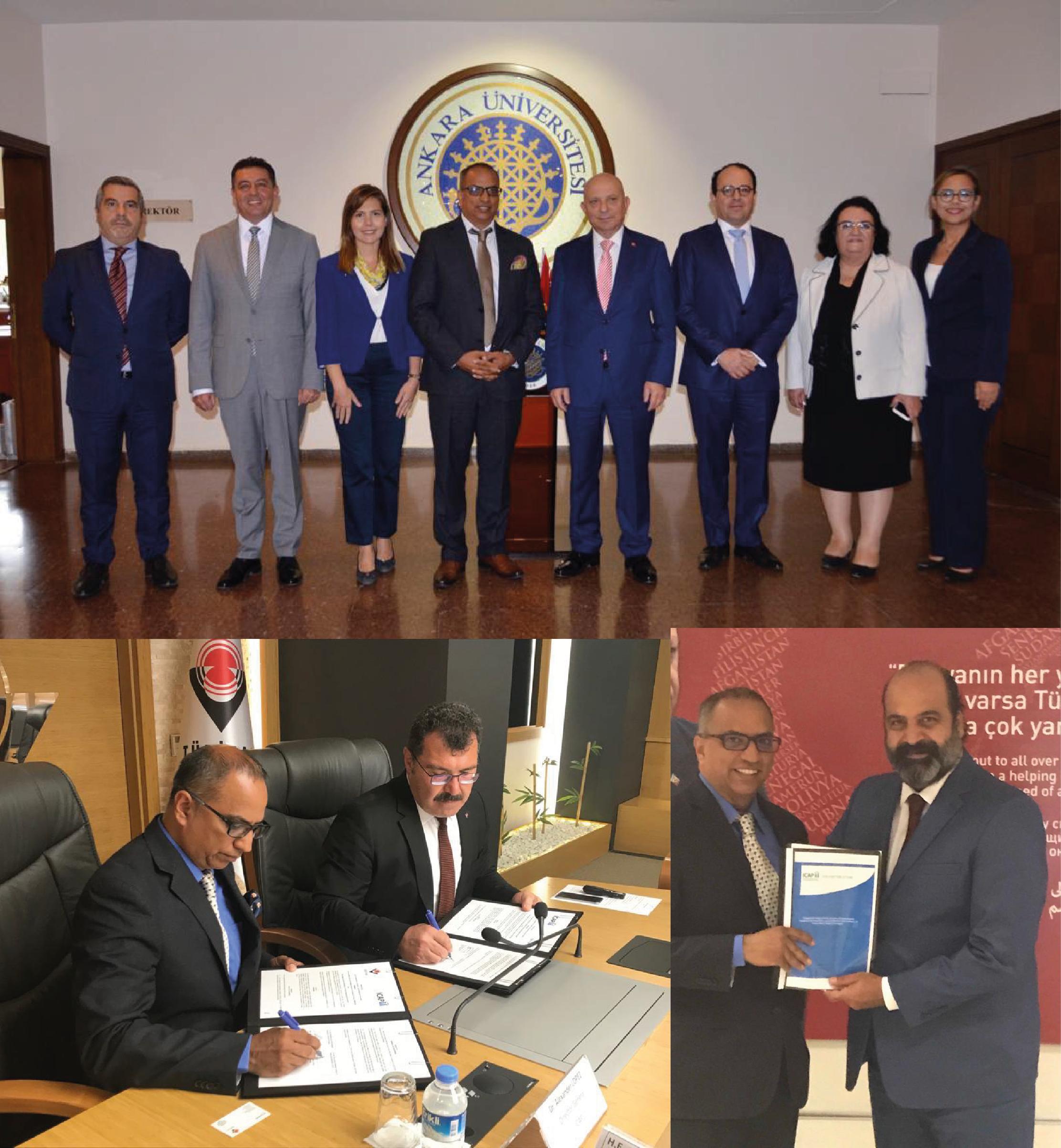 ICAP potencia alianzas con instituciones claves en la República de Turquía