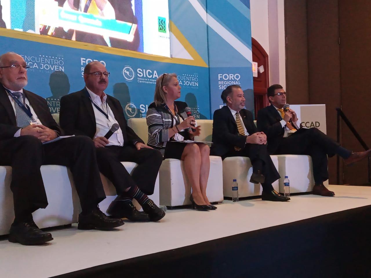 ICAP expuso sobre Finanzas, Desarrollo y Competitividad en el Foro Regional del SICA 2019