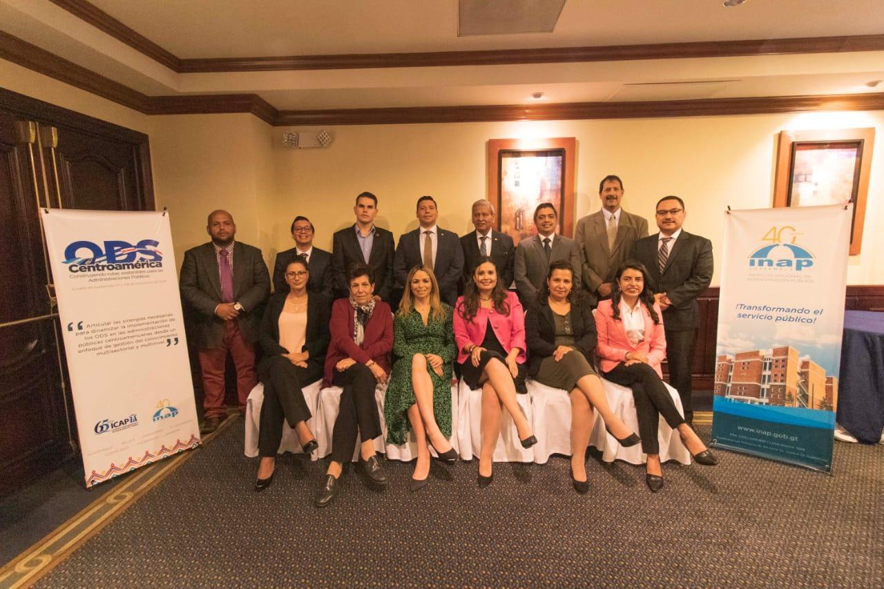 ICAP e INAP articulan implementación de ODS en la Administración Pública Centroamericana