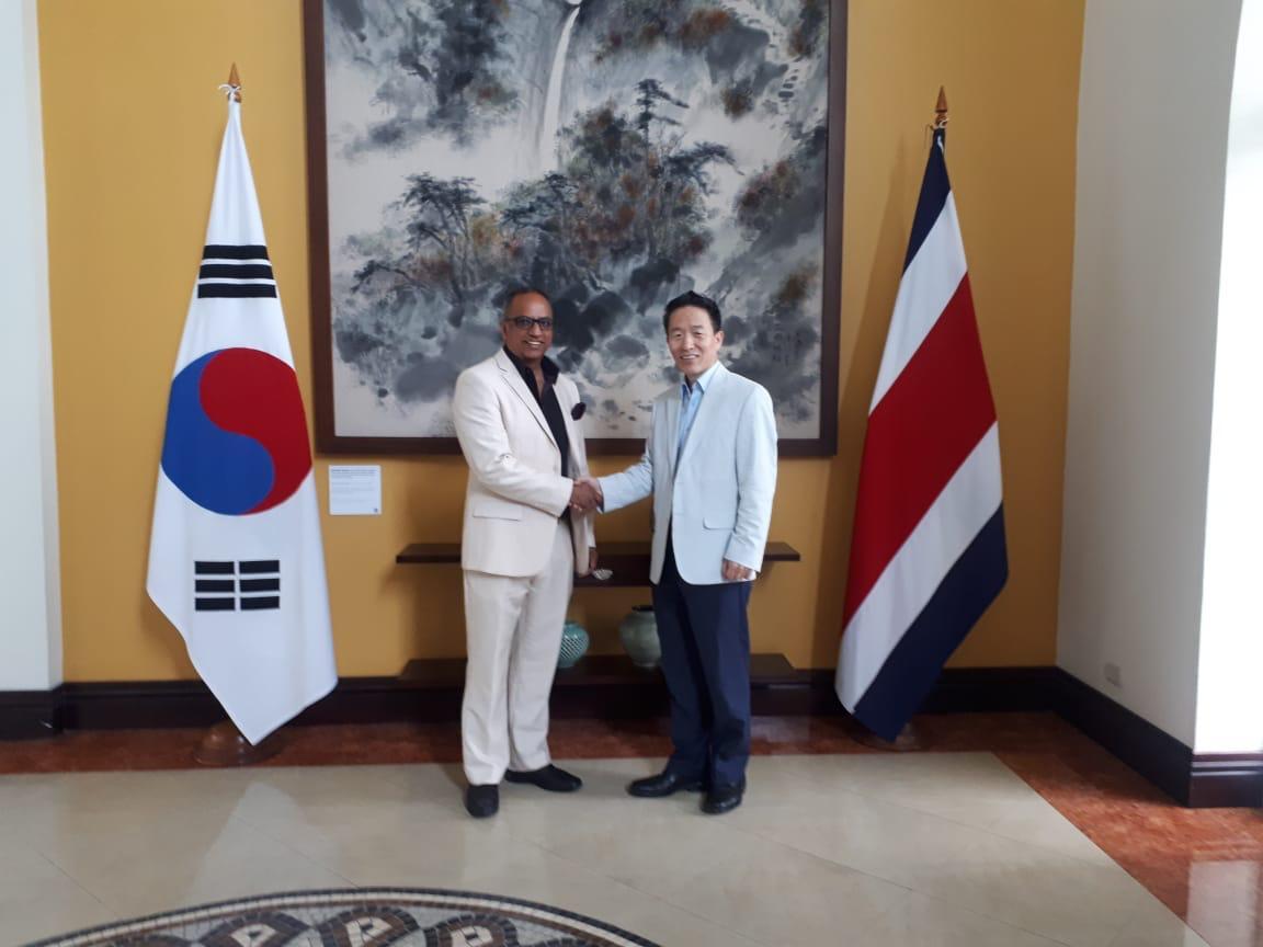 ICAP potenciará espacios de cooperación con el Gobierno de la República de Corea