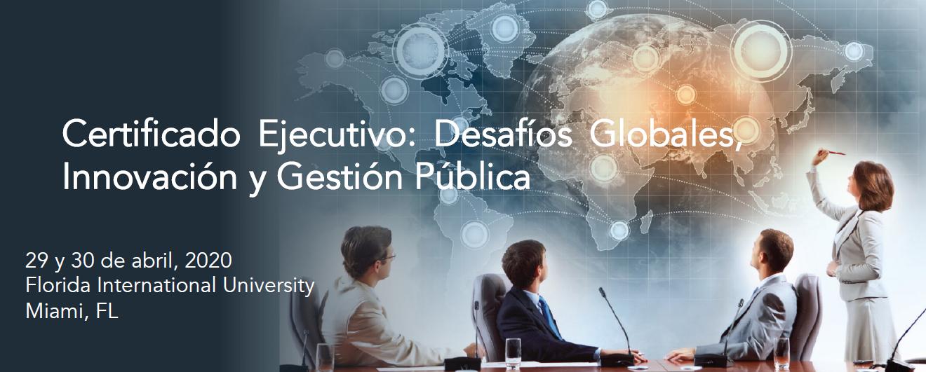 ICAP y FIU invitan al curso: Desafíos Globales innovación y Gestión Pública