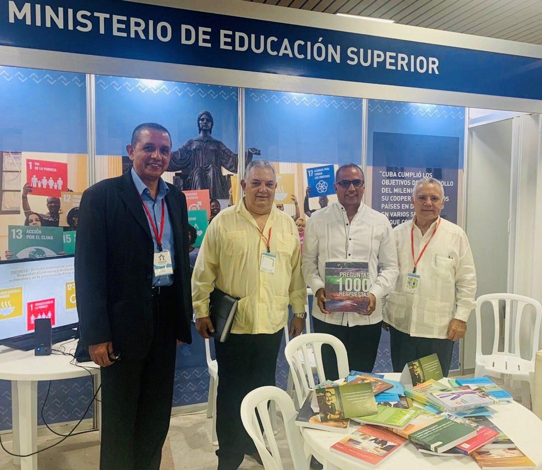 ICAP expuso en el 12do Congreso Internacional de Educación Superior, Universidad 2020 en Cuba