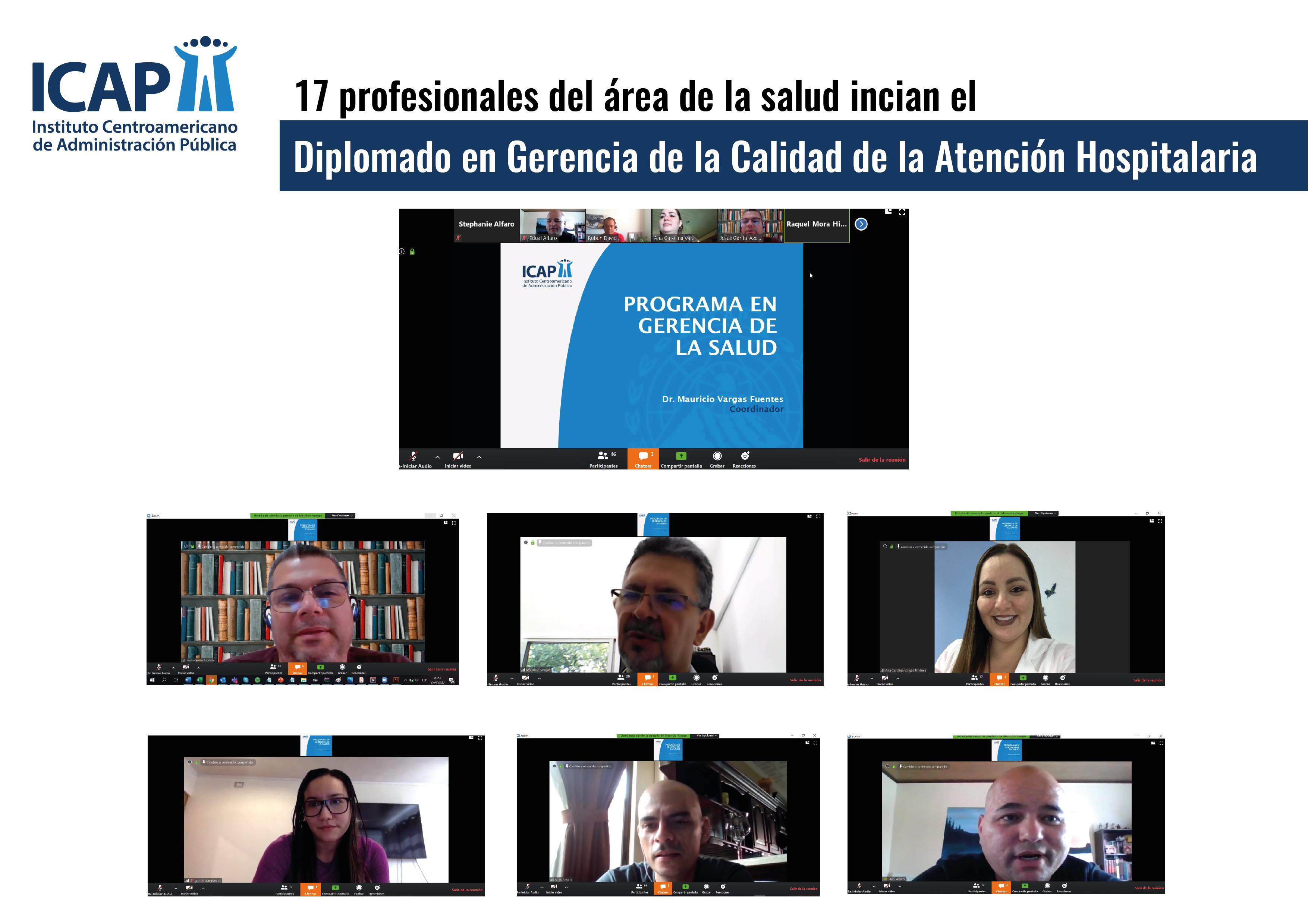 ICAP inauguró el Diplomado en Gerencia de la Calidad de la Atención Hospitalaria en Costa Rica