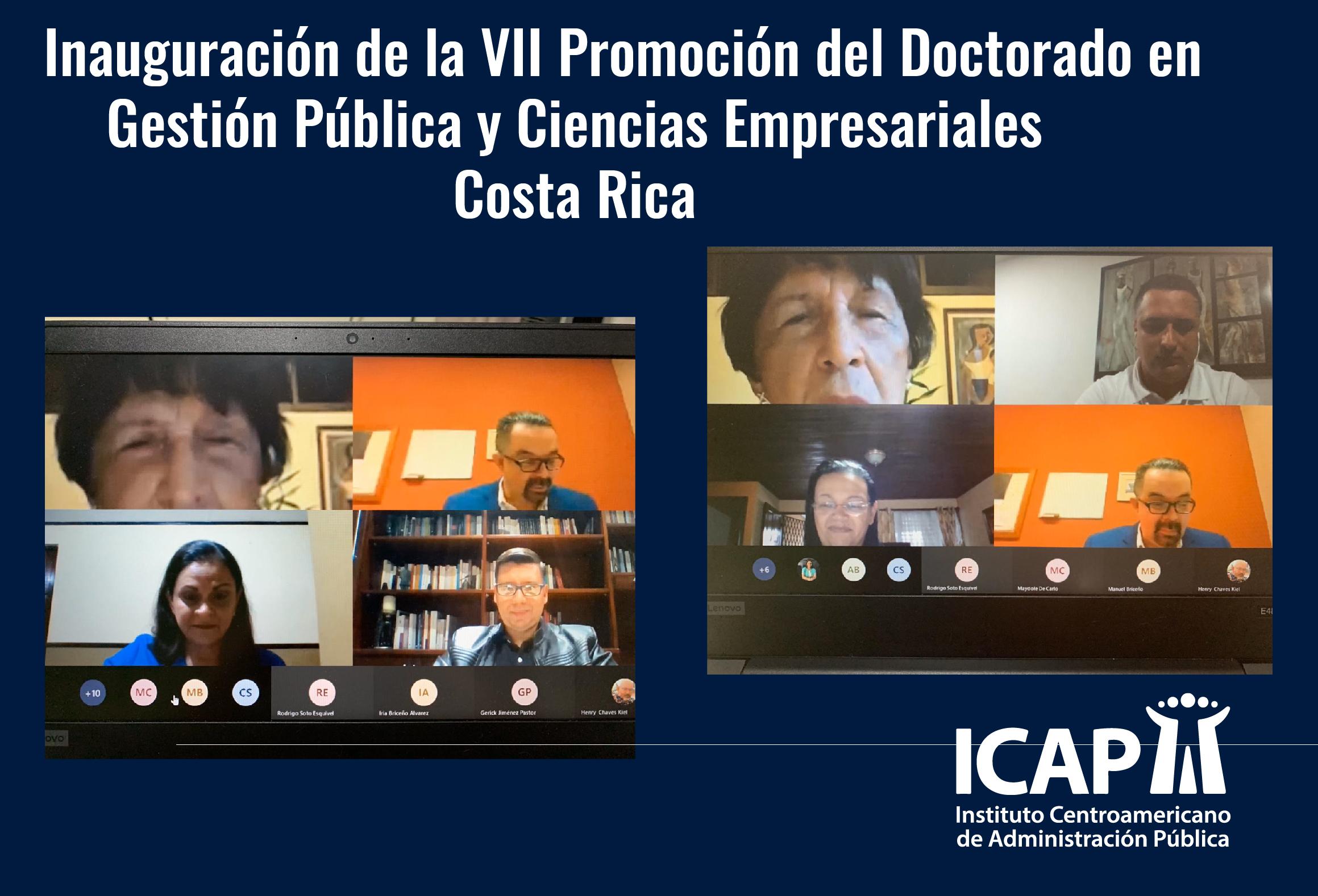Inició promoción virtual del Doctorado en Gestión Pública y Ciencias Empresariales en Costa Rica