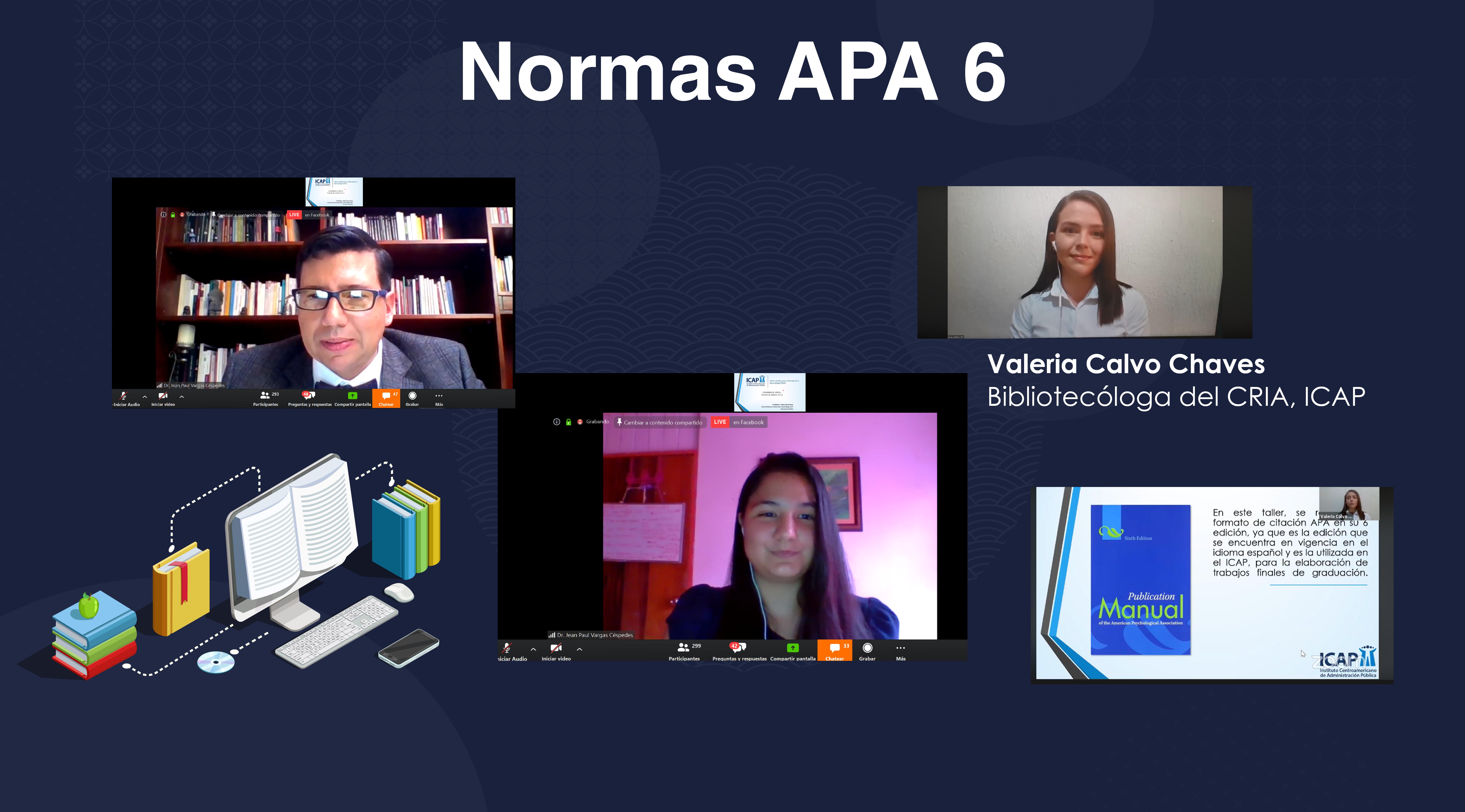 ICAP instruye a estudiantes, profesionales e investigadores en el uso adecuado de las Normas APA 6