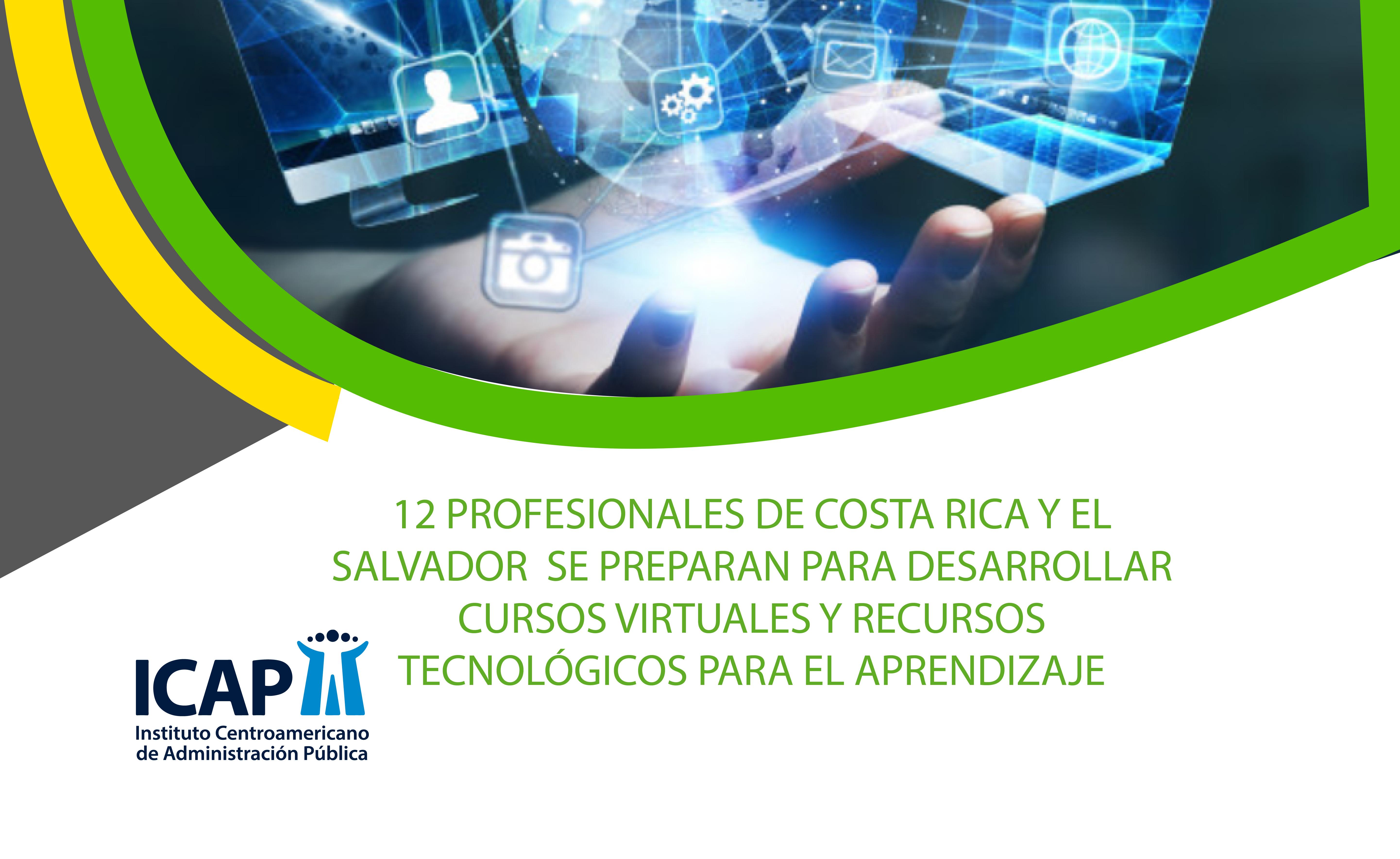12 profesionales se capacitaron en desarrollo de cursos virtuales y recursos tecnológicos para el aprendizaje