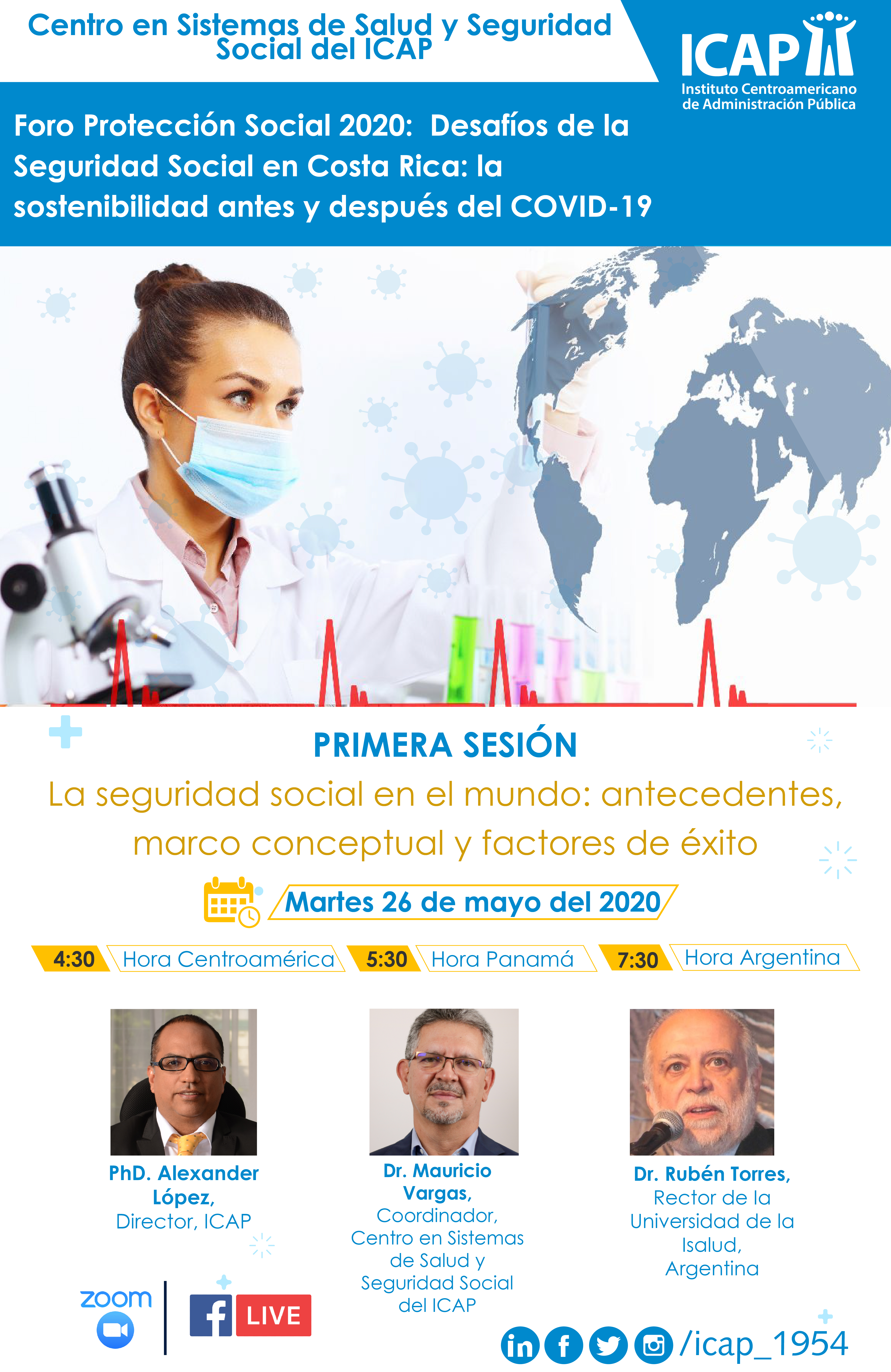 Una invitación a reflexionar sobre los ¿desafíos y retos de la Seguridad Social en Costa Rica en el escenario COVID-19?