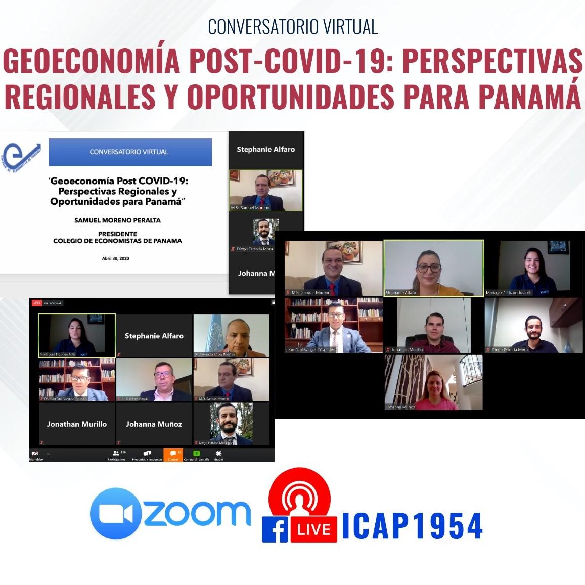 Open House virtual del Doctorado ICAP en Panamá