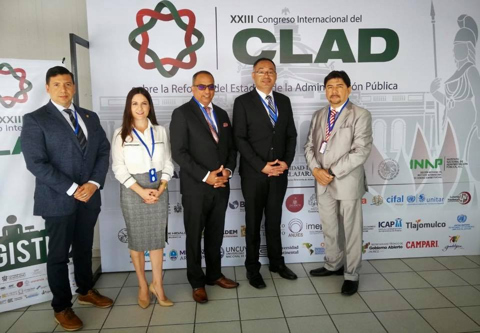 ICAP COPATROCINADOR DEL XXIII CONGRESO INTERNACIONAL DEL CLAD EN MÉXICO