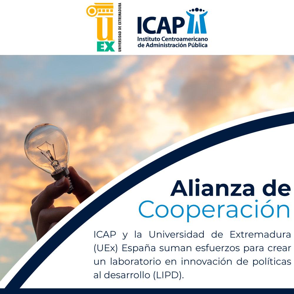 ICAP y la Universidad de Extremadura (UEx) España suman esfuerzos para crear un laboratorio en innovación de políticas al desarrollo (LIPD)