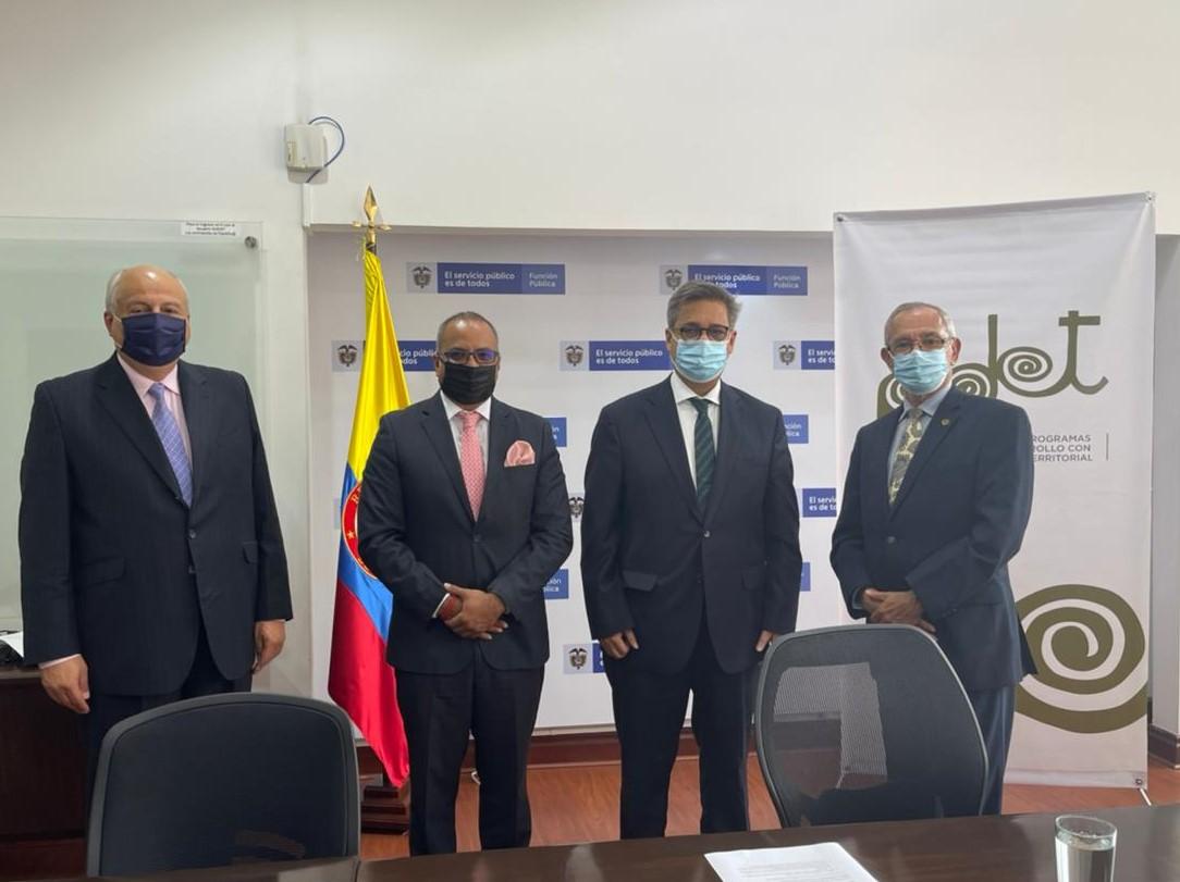 ICAP contribuirá con la gestión pública colombiana