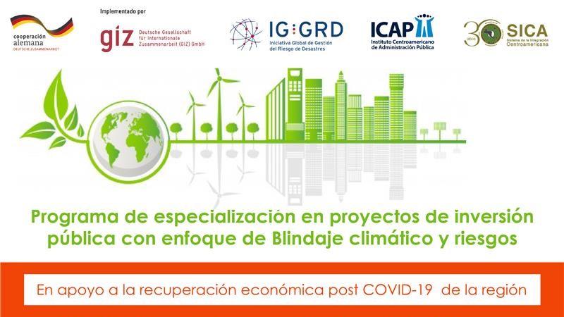 64 profesionales iniciaron especialización en Proyectos de Inversión Pública con Enfoque de Blindaje Climático y Riesgos