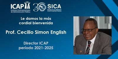 Profesor. Cecilio Simon English asume como Director del ICAP