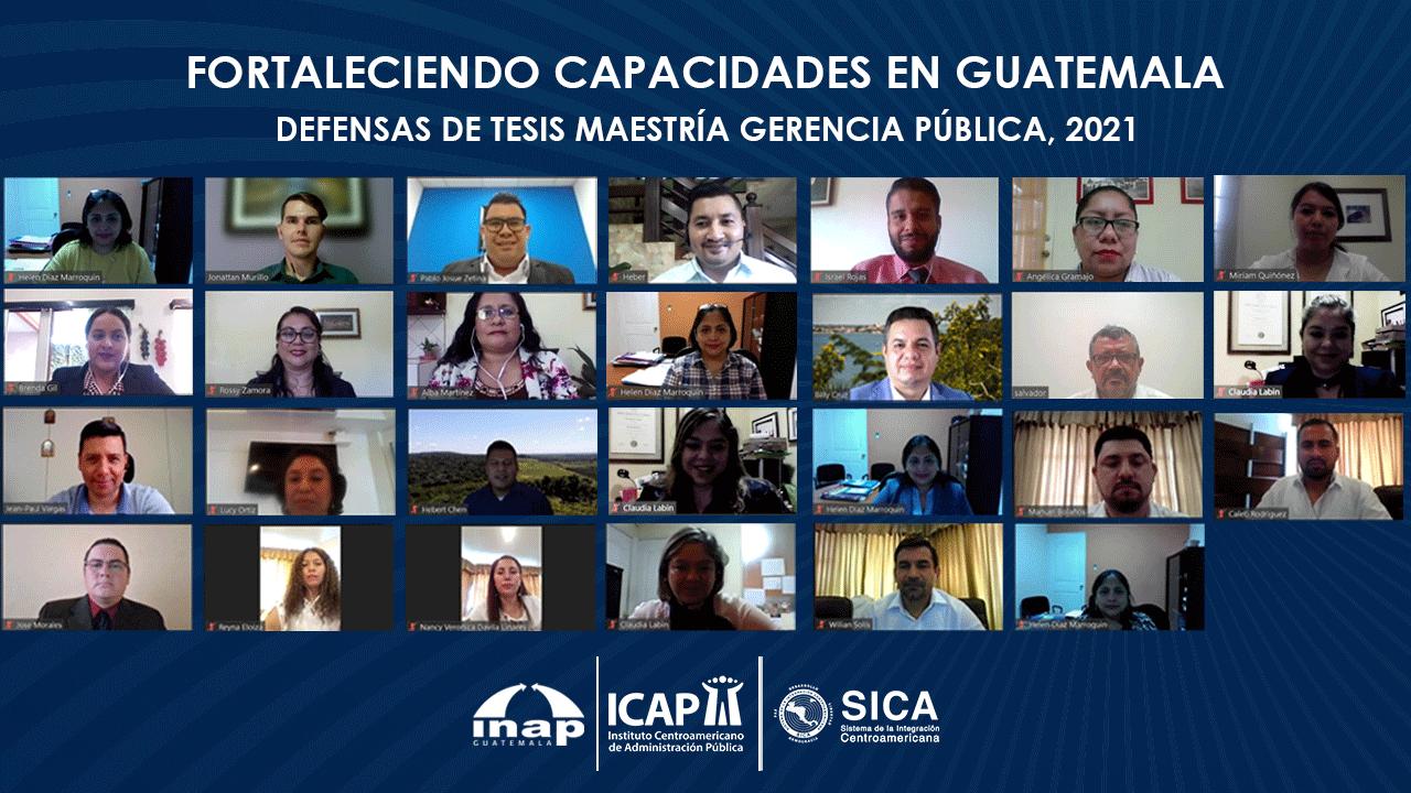 ICAP continúa fortaleciendo capacidades en Guatemala