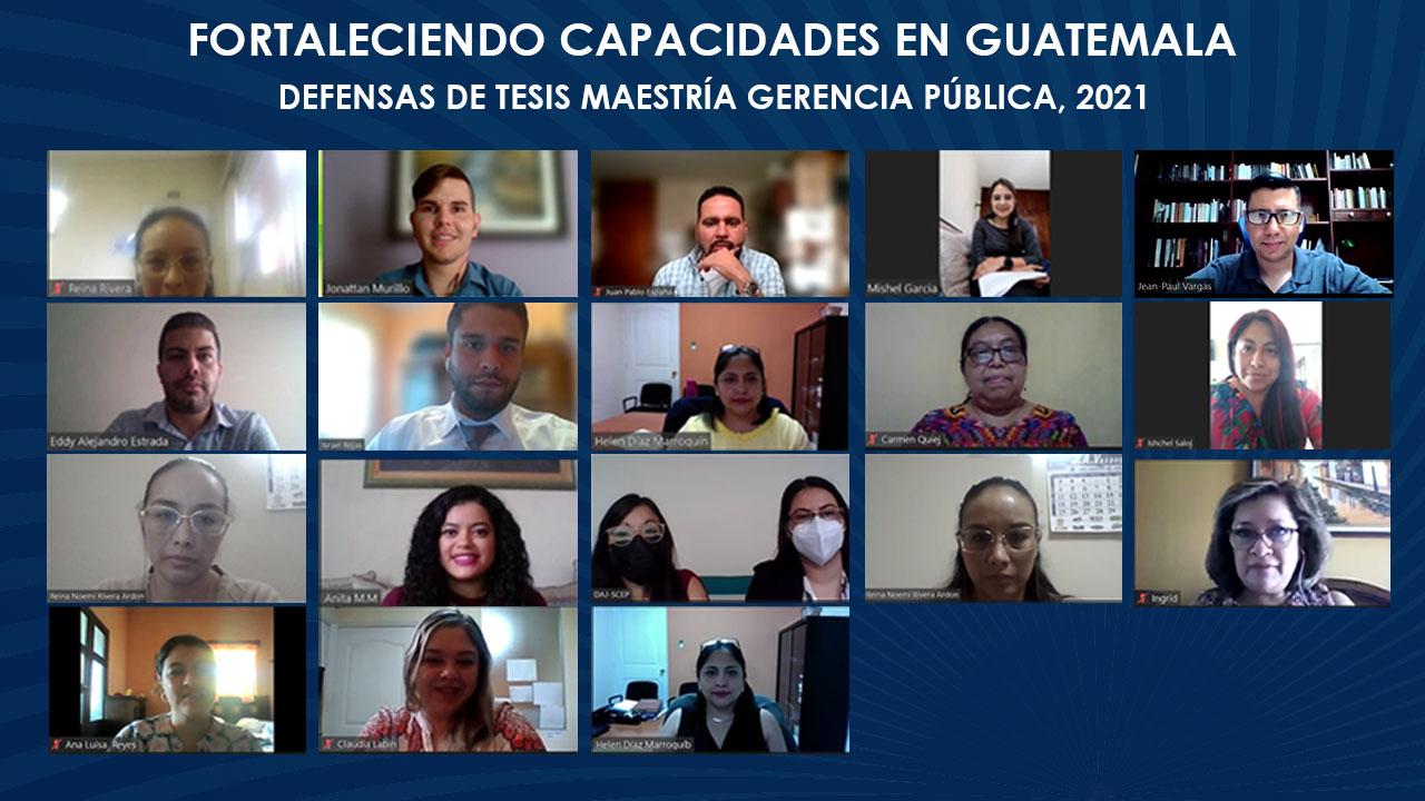 Impulsando el desarrollo del recurso humano y la modernización del sector público en Guatemala.