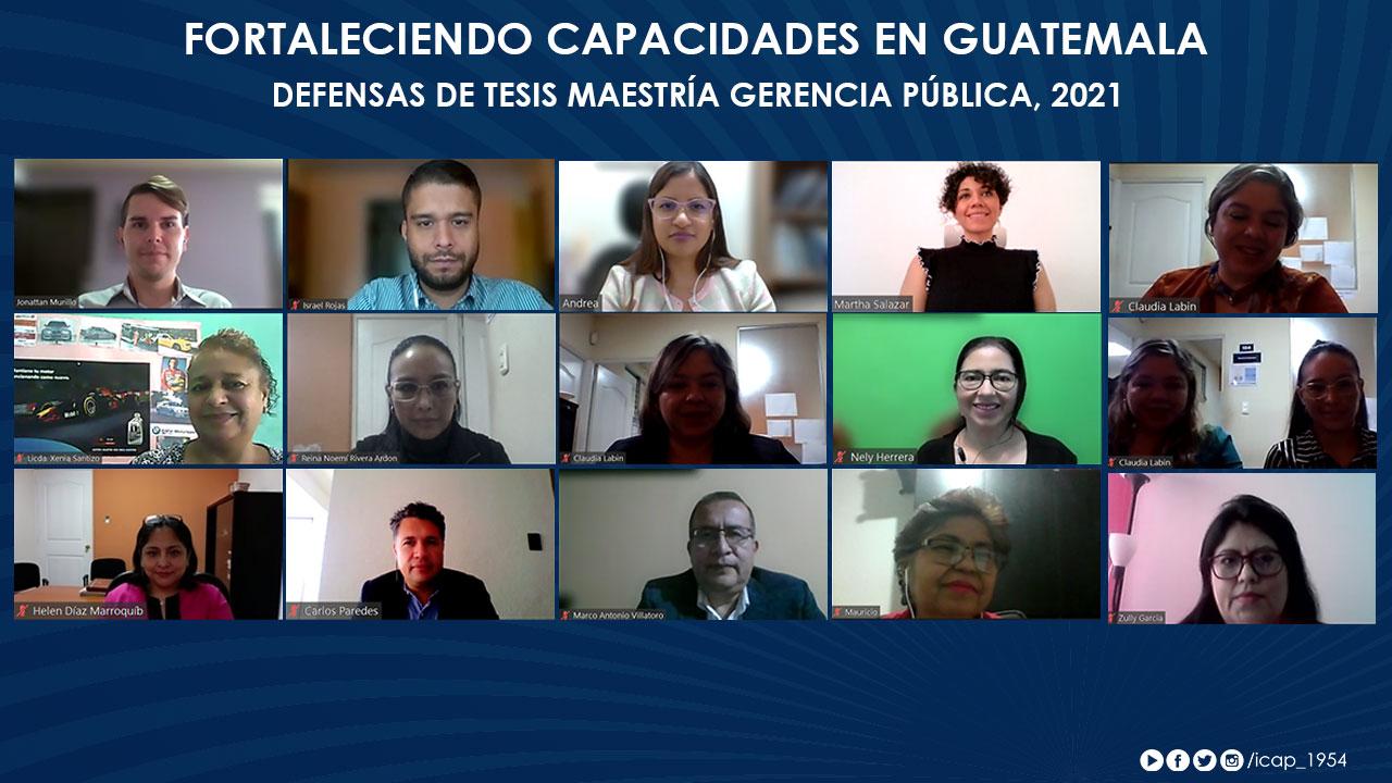 Impulso a la gestión pública guatemalteca a través del diagnóstico y la evaluación de las políticas públicas.