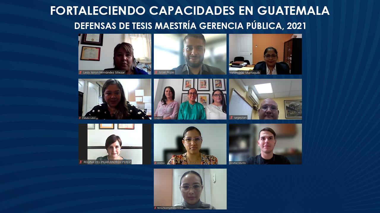 Vigorizando la función pública guatemalteca