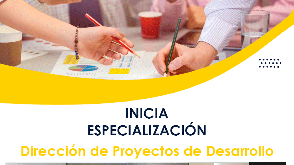 Inicia especialización en gerencia de proyectos
