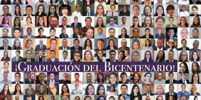 159 centroamericanos protagonizaron la XLVIII Ceremonia Graduación de los Programas de Posgrados a nivel de Doctorado y Maestría