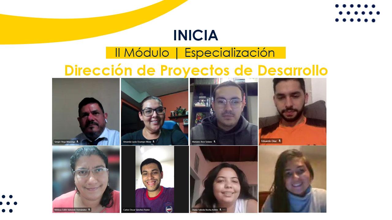 Inicia II Módulo de especialización en gerencia de proyectos